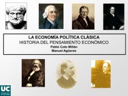 la economía política clásica