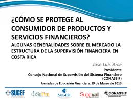 Cómo se protege al consumidor de productos y servicios financieros