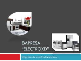 EMPRESA *ELECTROXD*