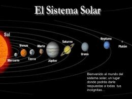 Sistema solar webquest