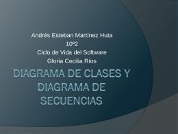 Diagrama de clases y diagrama de secuencias