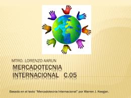 MERCADOTECNIA INTERNACIONAL 05