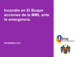 MUNICIPALIDAD METROPOLITANA DE LIMA, Dra. Marissa Glave