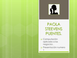 PAOLA STEEVENS PUENTES.