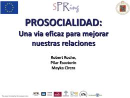 La prosocialidad - Spring Alfa PUCV