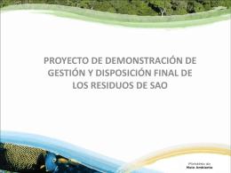 10.6 Resultados de Brasil sobre los proyectos de demostración para
