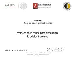 Dr. Omar Sánchez Ramírez - Academia Nacional de Medicina