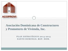 Asociación Dominicana de constructores y