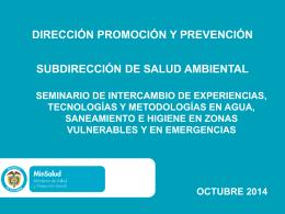 MSPS PRESENTACION ENTORNOS SALUDABLES (Spanish