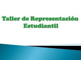 Primera Sesión - Centro Federado de Estudios Generales Letras