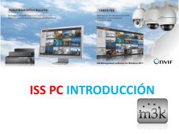 Introducción al ISS para PC