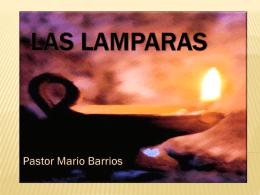 LAS LAMPARAS - Iglesia Shekina
