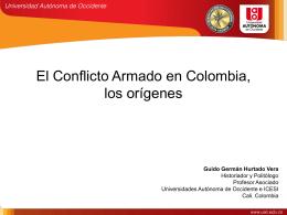 El Conflicto Armado en Colombia, los orígenes
