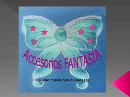 ACCESORIOS FANTASIA - belloespecialistagutierrez