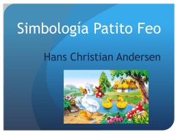 Simbología Patito Feo Hans Christian Andersen