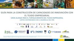 Capacidad crear innovación con tejido empresarial 2