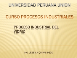 PROCESO INDUSTRIAL DEL VIDRIO_docente