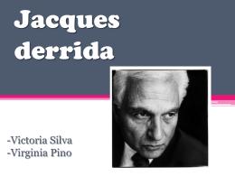 Jacques Derridá