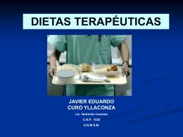 7 dietas terapéuticas