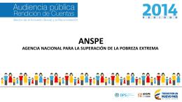 Presentación ANSPE