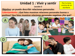 leccion 3 -unidad 1