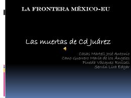 Las muertas de C.d. Juarez