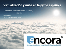 El viaje a la Nube