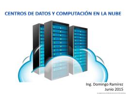 centros de datos y computación en la nube