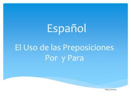 Español - Sophia