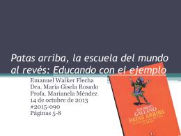 1. Emanuel Walker - UHS Rayuela Clase 2015
