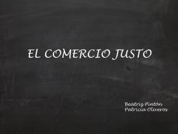 EL COMERCIO JUSTO