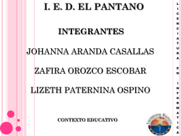 ied el pantano - WordPress.com