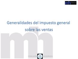 5-presentacion impuesto de ventas - UTN-CONTA-IV