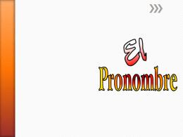 elpronombre - Docentes Innovadores.net