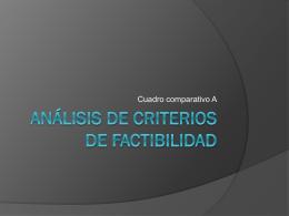 lisis+de+criterios+de+factibilidad