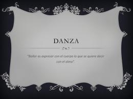 DANZAS - Thevemusic