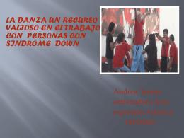 14 LA DANZA UN RECURSO VALIOSO EN EL TRABAJO CON