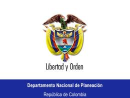 Agenda interna DNP
