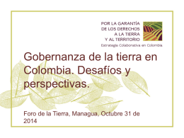 Colombia - International Land Coalition