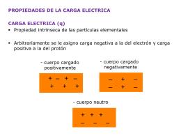 detectores de carga electrica