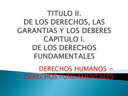 DIAPOSITIVAS CONSTITUCIONAL