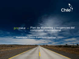 Presentacion Pedro Solar