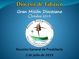 Gran Misión Diocesana (Octubre 2014)