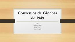 Convenios de Ginebra de 1949