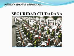 ii. sistema nacional de seguridad ciudadana
