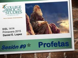 Archivo Powerpoint - Ministerios EN PROFUNDIDAD
