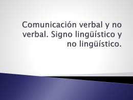 Comunicación Oral y Escrita II Prof. Iván Cañiza