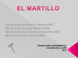 Descarga - martillo
