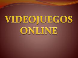 Alberto Calderari - Videojuegos On-line - TICO
