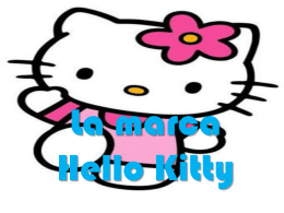 La marca Hello Kitty